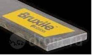 Messerstahl Verschleißblech Schürfleiste 80x10mm Bruxite HB500 wie Hardox