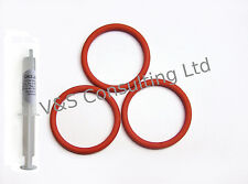 Delonghi Infuser/Brew Unit o-rings / Gaskets and Grease for Magnifica, Perfecta