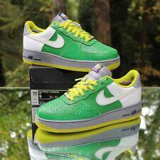 Nike Air Force 1 Premium '07 Gaucho'S Gym Green Men's Size 9 White 315180-311