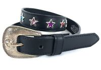 Western NOCONA Kids Leather Belt size 24 #A23