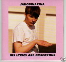 (I276) Jakobinarina, His Lyrics Are Disastrous - DJ CD