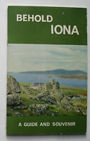 1968 Guide and souvenir - Behold Iona edited by John Morrison