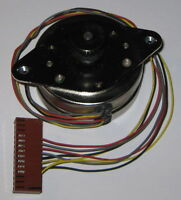 Airpax Stepper Motor - 5V - S57 - 57mm Diameter - Pulley Included - 48 Steps