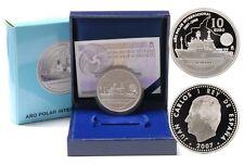 Año 2007. 10 EUROS DE PLATA. ESPAÑA. 50 Aniversario Tratado de Roma.