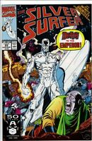 Silver Surfer comic #53 1991 Infinity Gauntlet x-over