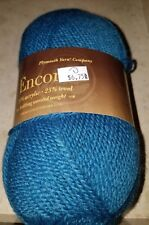 SKEIN/BALL OF PLYMOUTH ENCORE YARN ~ COLOR #0598 GRAYED TEAL