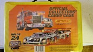 Matchbox Official Collectors Carry Case 1983 w/19 Assorted Cars