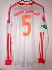 FC Bayern Spielertrikot Trikot INFRARED Triple Saison Gr. L Langarm matchworn