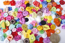 Formes 200x assortiment couleur boutons animaux rond fleurs embellissements