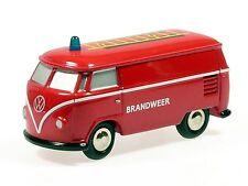 """Schuco Piccolo VW T1 Kasten Feuerwehr Niederlande """"Brandweer"""" # 50132900"""