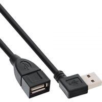 1m AA 2.0 USB Kabel Verlängerung Adapter 90 Grad A Winkeladapter Stecker Buchse