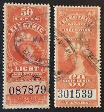 Lot20 Canada Revenue Stamps
