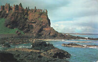 Rare Vintage Postcard - Antrim, Dunluce Castle - Northern Ireland (Aug 1965).