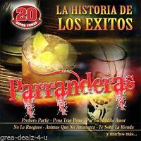 Historia De Los Exitos: Parranderas ( CD )