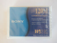 Sony DDS2/DDS-2 Computer Grade Data Tape/Cartridge 4/8GB DGD120M 120M NEW