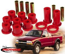 "Prothane 7-1016 Rear Leaf Spring 1-1/2"" Eye & Shackle Bushing Kit S10/S15/Blazer"