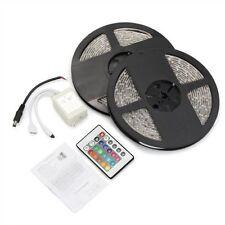 Tira de Luz RGB 600 LED 3528 SMD DC 10M 2X5M Impermeable Flexible Mando 24 P7