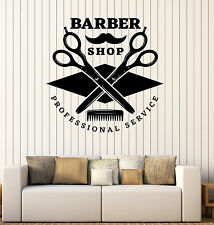 Wall Stickers Vinyl Decal Barber Shop Professional Service Hair Decor z4813