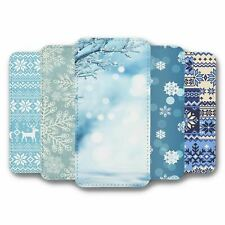 For Samsung Galaxy S10 PLUS Flip Case Cover Winter Collection 2