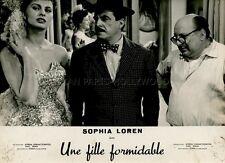 SEXY SOPHIA LOREN CARLO DOPPORTO CI TROBIAMO IN GALLERIA 1957 VINTAGE PHOTO #4