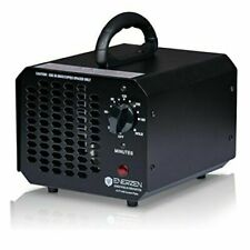 Enerzen Commercial Ozone Generator 6,000mg Industrial O3 Air Purifier - Black