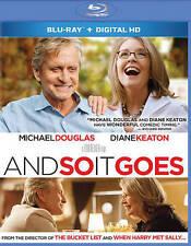 And So It Goes (Blu-ray + Digital,  2014, WS) Michael, Douglas, Diane Keaton NEW
