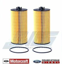 6.0L & 6.4L Powerstroke Genuine Ford Motorcraft OEM Oil Filter FL-2016 - Qty 2