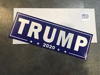 12 MAGA TRUMP bumper stickers Made In USA 2020 Keep America Great Again!