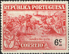 Portugal Battle of Ceuta against the Moors stamp 1924 MLH