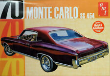1970 Chevrolet Monte Carlo SS 454 in 1:25 AMT Model Kit Bausatz AMT928 Chevy