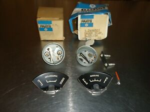 OEM Mopar Fuel Temp Gauge Lot 2496501 2496502 1965 Plymouth Barracuda Valiant