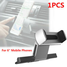 "1PCS Car Phone Holder CD Port Mounting 6"" GPS Device Mobile Phone Bracket Silver"