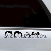 Peeping Family For Auto Car/Window PET Decal Sticker Decals Decoration