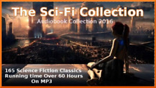 165 SCIENCE FICTION STORYS - THE MASTERS COLLECTION - OVER 60 HOURS ON MP3 CD