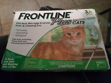 New listing Frontline Plus for Cats and Kittens Up to 8-Week and Older 3 Doses 1.5 lbs an up