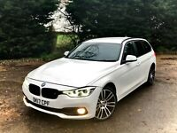 2017 BMW 3 SERIES 330D XDRIVE TOURING AUTO (s/s) 5dr ESTATE DIESEL FSH HPI CLEAR