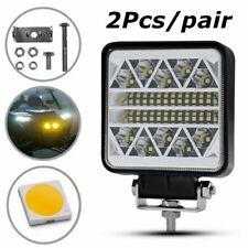 2Pcs 62W Square Spot Car Off-road Headlight LED Work Light Lamp 7000K10-30V