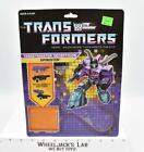 Spinister Targetmaster Cardback 1987 Vintage Hasbro G1 Transformers For Sale
