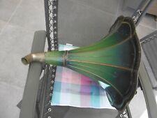 Gramophone Phonographe Ancien Pavillon avec son Coude