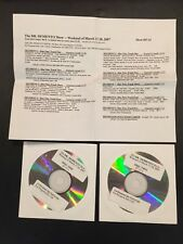 The Dr. Demento Show #07-11 March 17-18 2007 Rare 2 cd Radio Show