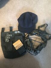 MacGregor Umpire Equipment With Equipment Bag Broom Counter Mask & Vintage Hat