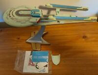 Playmates STAR TREK USS ENTERPRISE B Ship w/ Stand and paperwork NCC-1701-B