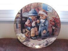 M J Hummel Tender Loving Care Little Companions Danbury Mint 1992 Plate Mb509