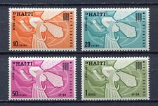 36475) HAITI 1963 MNH** FAO Fighting againt hunger 4v.