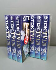3 videocassette VHS TDK 120 Nuove for Daily Use