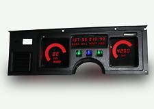 C4 Corvette 1984-1989 Digital Dash Gauge Instrument Cluster Direct Fit RED LEDs!
