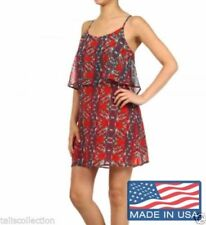 Machine Washable Casual Floral Dresses Tunic/Smock Dress
