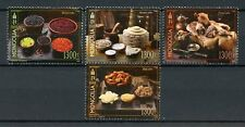 Mongolia 2018 MNH Foods Cuisine 4v Set Gastronomy Cultures Traditions Stamps