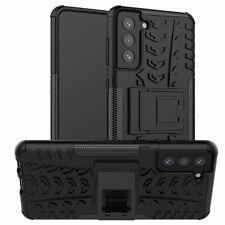 Samsung Galaxy S21 Plus Hülle Handy Tasche Handyhülle Back Cover Outdoor Schwarz