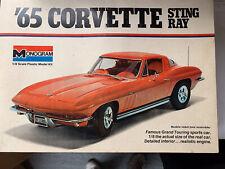 1/8 Monogram 1965 Corvette Stingray Kit 2600